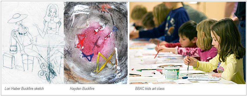 Lori Haber Buckfire Foundation | Birmingham Bloomfield Art Center Camp